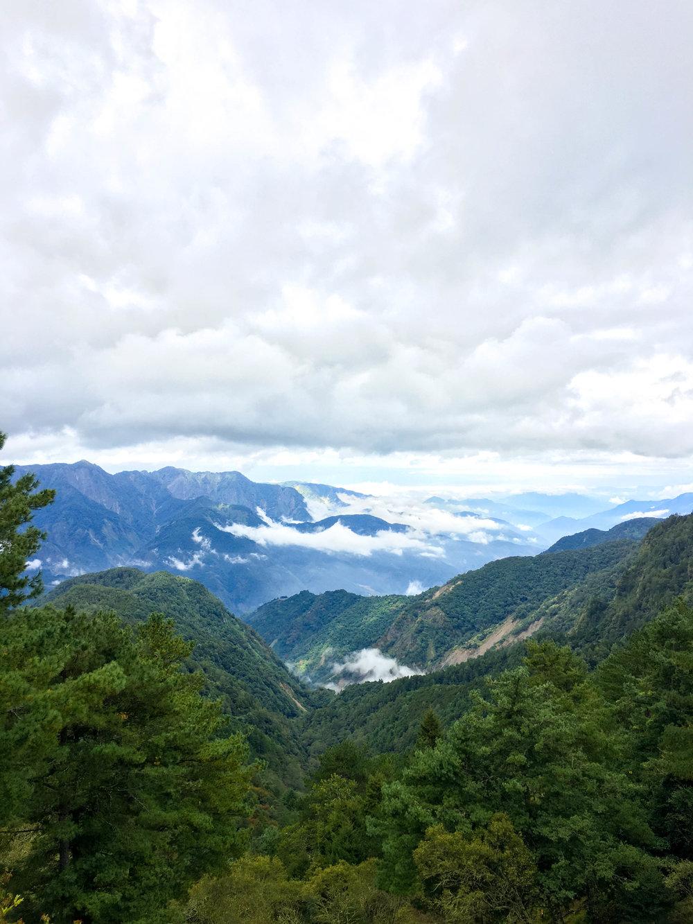 Mt. Alishan viewpoint