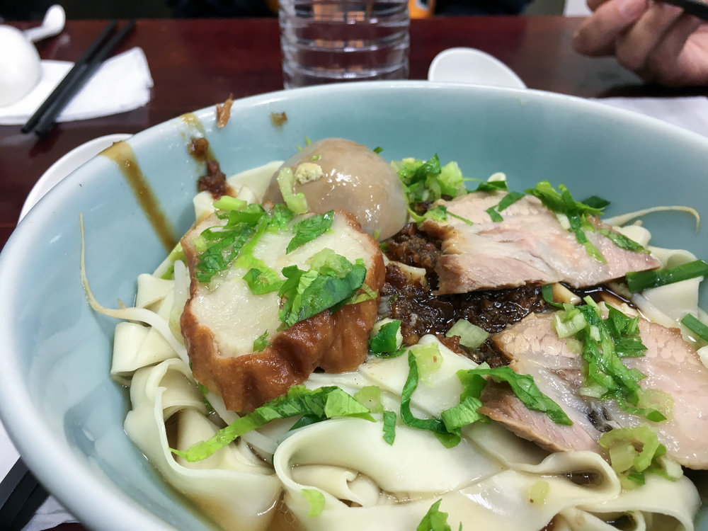 Pork Noodles (cost only $1.15 US!)