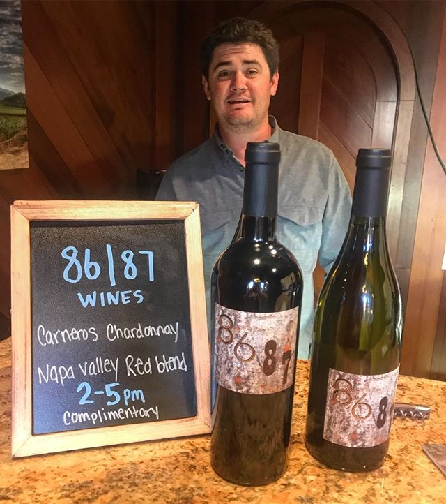 Come into Saint Helena Wine Center today for some wine or to hear Jeff sing Christmas Carols... either way. 😂🍷 #boutiquewine #sthelenawinecenter #napavalley #8687wine #8687wines #smallbatchwine