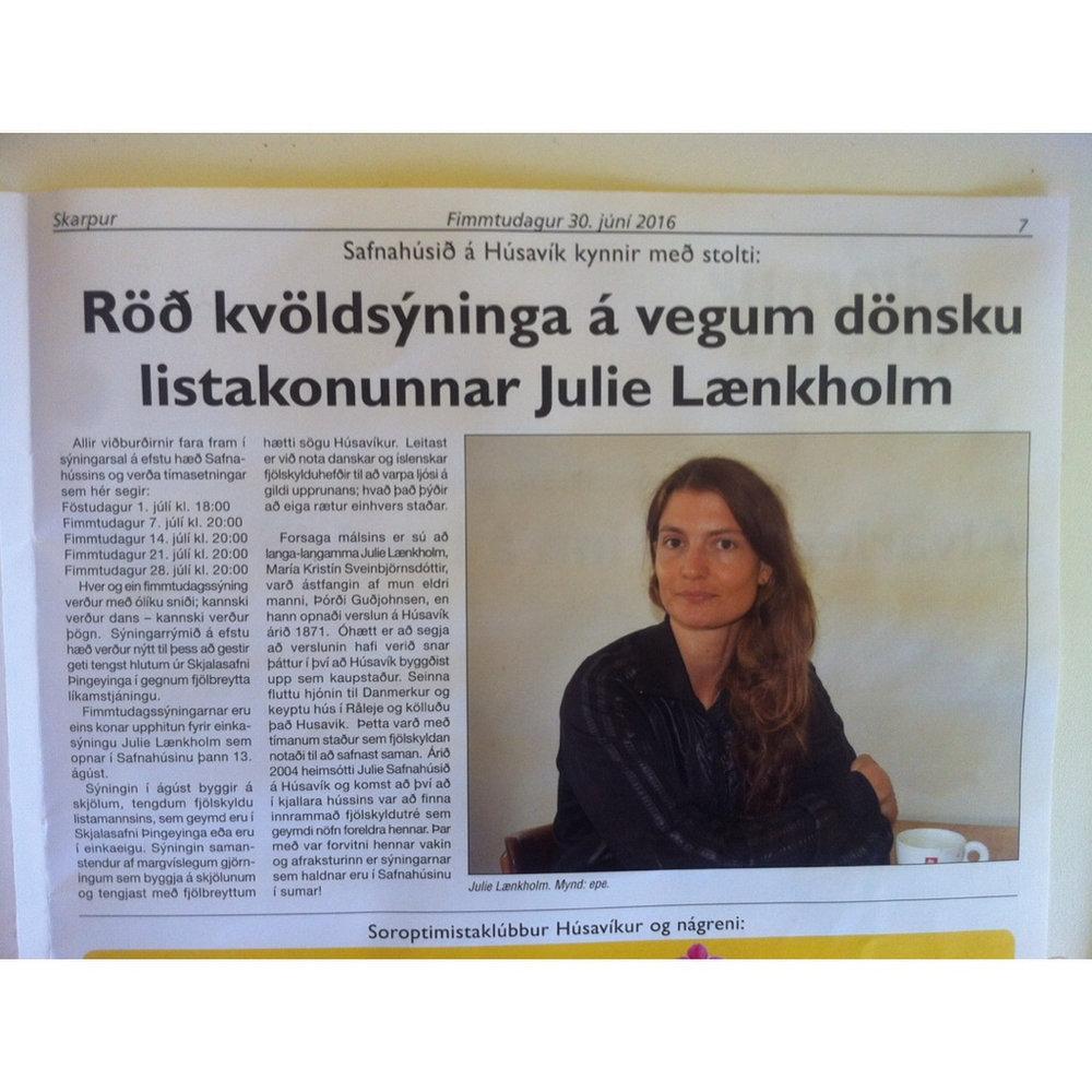 julie laenkholm