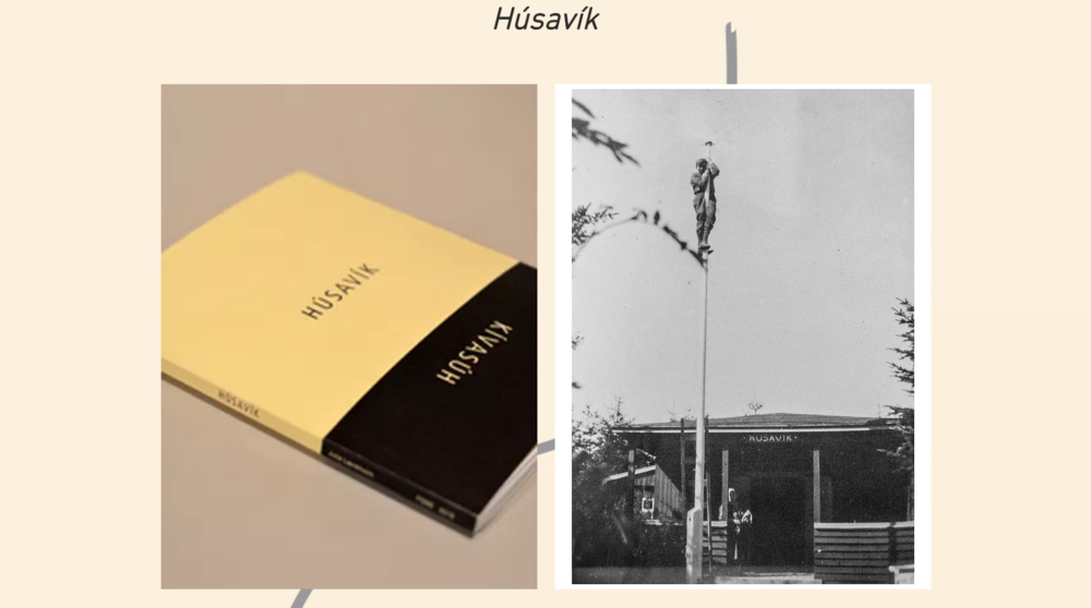 Húsavík Julie Lænkholm, 2016 76 p. published by FOSS in 100 numbered copies The Book Húsavík is a personal account and journey in body and mind, unraveling old and tying new bands between Húsavík, Iceland and Húsavík far from Iceland in Rågeleje,- the house Lænkholms Icelandic descendants build generations ago. Including both process, research and a view into the lives of the people that live(d) and parted with the town of Húsavík, the imprint blurs the line between public archive and private sphere, connecting then and now. Letting rocks, plants, wool and other tactile material on the path mirror identities, Húsavík does not present a formal narrative but points to a search for coherence and states the artists quest for and appreciation of the womens voice and historical testimony. A same exposition of patriarchal systems Professor of Anthropology Krístin Loftsdóttir present in her essay Lost Stories and Intimate Spaces, written for and included in the book. Húsavík unfolds visual and poetic layers of time and memory expressed through songs and relics, footage and documentations of happenings. The previously unpublished poem Sit Ég og Syrgi from 1835 by Gudny of Klombur included in the book is a testimony of a broken heart. Elsewhere in the book one can find a pipe cleaner and description for folding a paper flower as made by The Womens association from the traditional flower of Húsavík since the beginning of 1900. Found material and the artists own matter woven together to a multifaceted tale. The art book of 76 pages, is released in connection to Lænkholms project and exhibition Húsavík at Húsavík Museum 2016. Realized in collaboration with and supported by Húsavík Museum.  BUY HERE https://www.foss.press/husavik