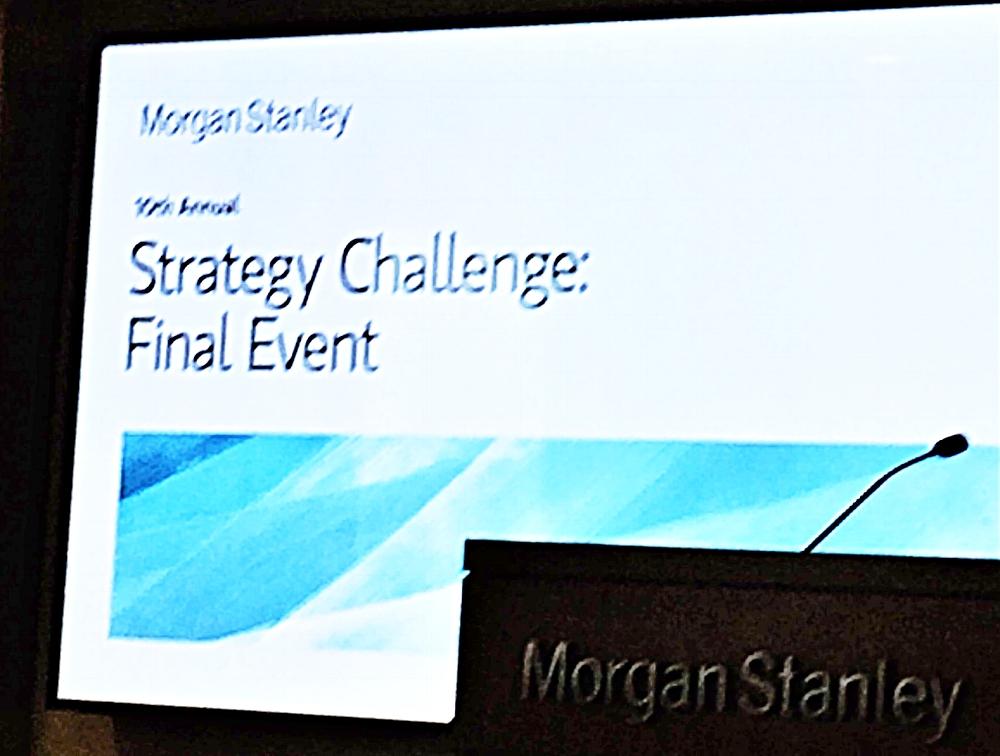 El programa New Americans fue creado en asociación con Morgan Stanley Strategy Challenge.