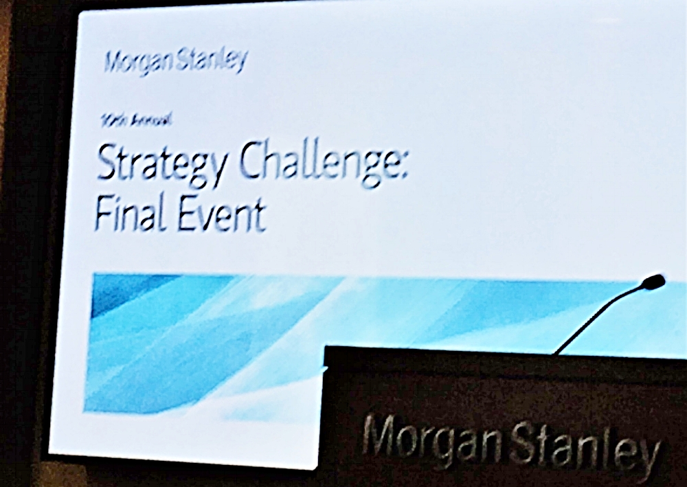 The New Americans Program was created in partnership with the Morgan Stanley Strategy Challenge.