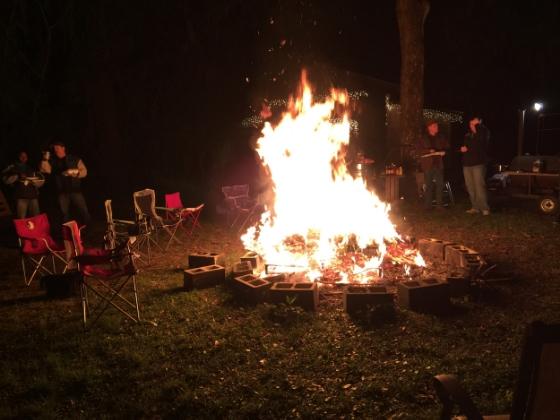 Men's Ministry Bonfire
