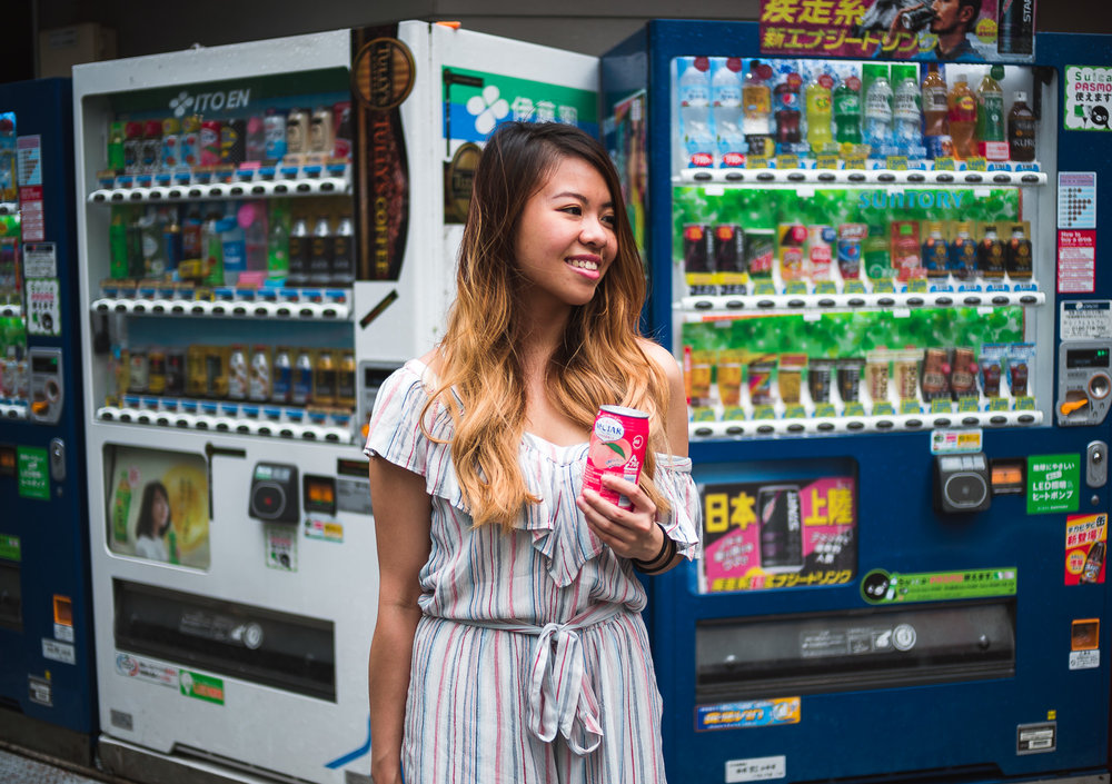 We learned to love these little vending machines. Not only are they on virtually every street corner, they're also filled with drinks which are heavily marked up in Canadian supermarkets.
