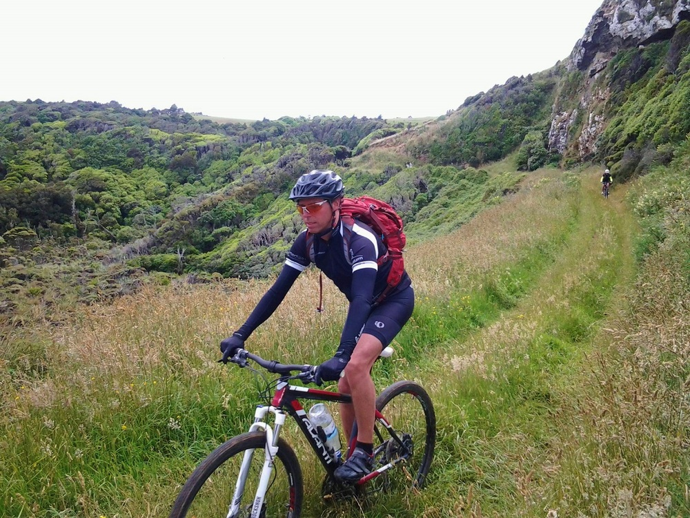 mountain biking in the Catlins