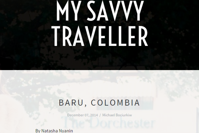 My Savvy Traveller