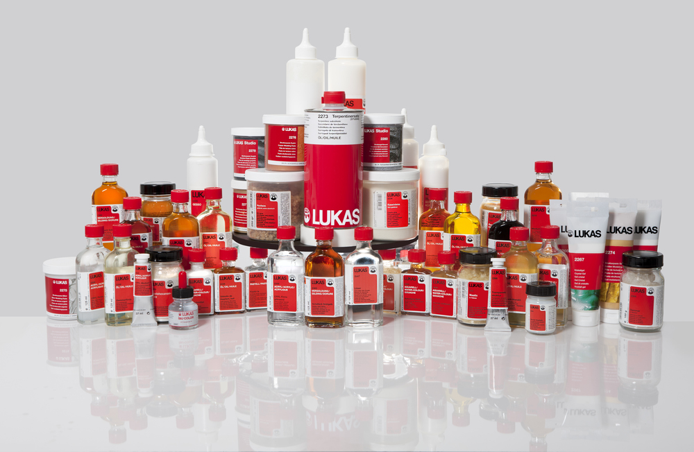 The full line of Lukas Oil Painting Mediums is available at the Palette Shop.