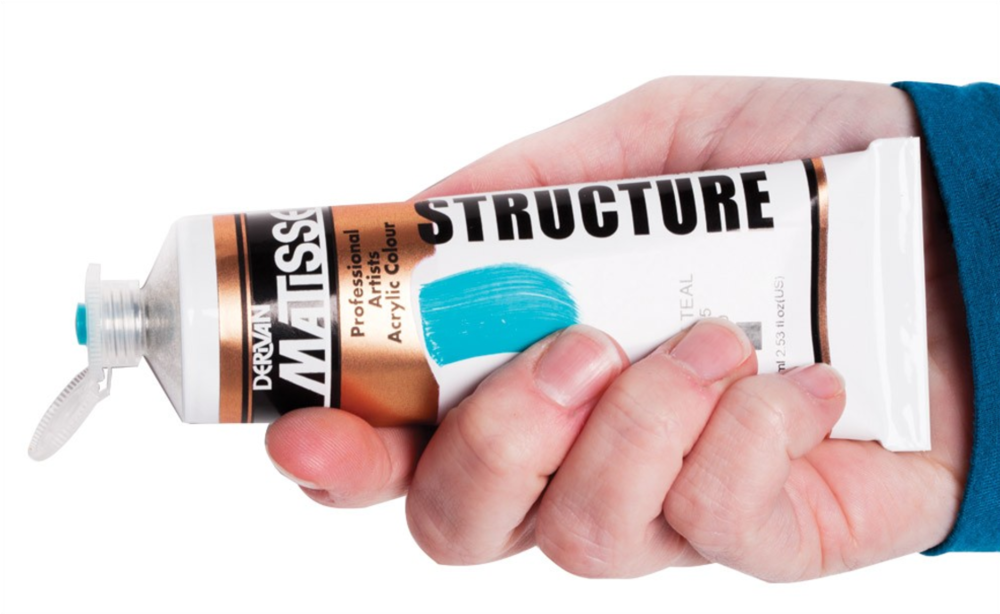 One Of The Best Values In Acrylics For The Money! Matisse Structure Acrylics feature excellent lightfastness ratings and come in 98 pigment intense colors (including metallics), using absolutely zero masking agents!Because of their heavy body and high viscosity, Matisse Structure Acrylic Colors are ideally suited to impasto techniques and thick, textured applications. Paint applies easily with a brush or palette knives straight from the tube, and achieve brilliant effects. Mixing with Matisse Mediums can alter the paint's characteristics and add or subtract body and texture, gloss and sheen, and extend or decrease working time. Key Features: Heavy body, high viscosity acrylic Brilliant and highly pigmented No masking agents! 98 Brilliant professional colors Black and white to 4 liter size Perfect For: Impasto painting techniques Painting large scale and backgrounds Intermediate to professional artists Comparing to popular leading brands High quality paint at a great value