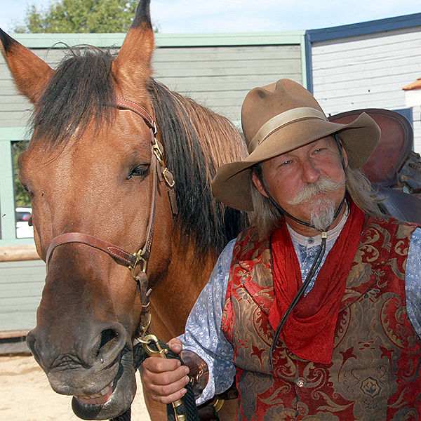 SW Williams, cowboy in show.JPG