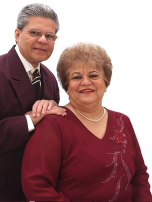 Bishop Emilio martinez and Rev. ana Martinez