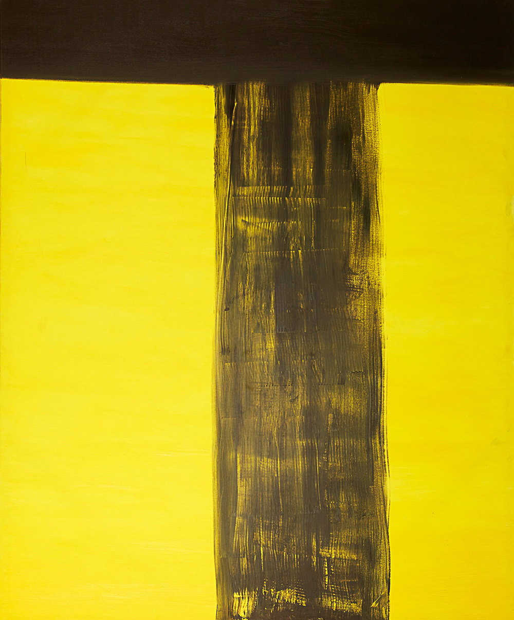 High Line , 2012   Oil on canvas   72 x 60""