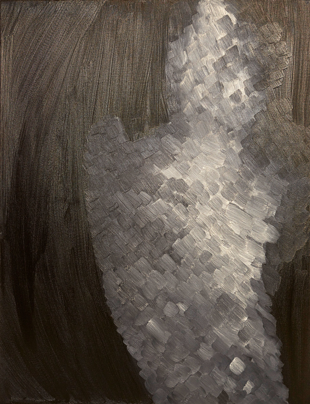 Kronos , 2015   Oil on canvas   30 x 40""