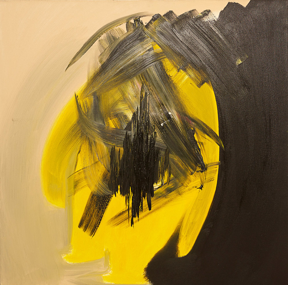 Scars , 2014   Oil on canvas   36 x 36""