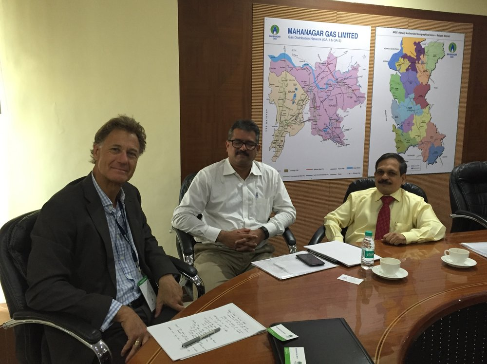 Morphic Managing Director and Joint CIO Jack Lowenstein visited Mahanagar Gas last month