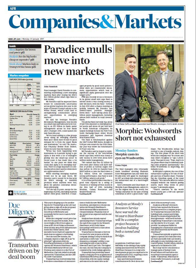 AFR Woolies Jan 17 front page.JPG