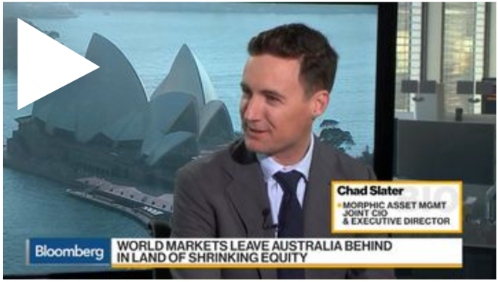 Bloomberg Markets chad slater aussie market