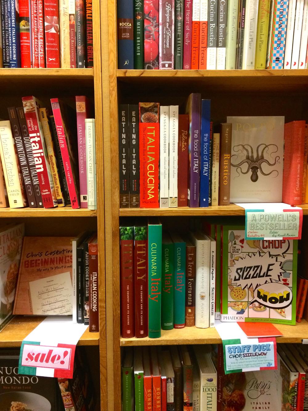 Inside Powell's Books