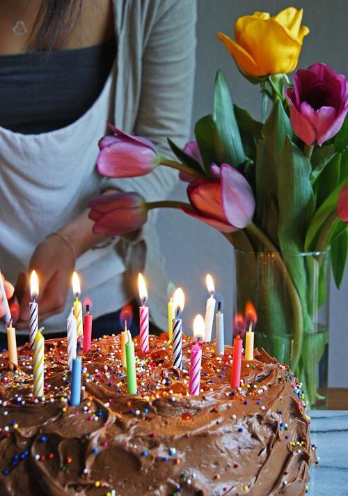 Chocolatey Chocolate Birthday Cake With Rainbow Sprinkles Knead