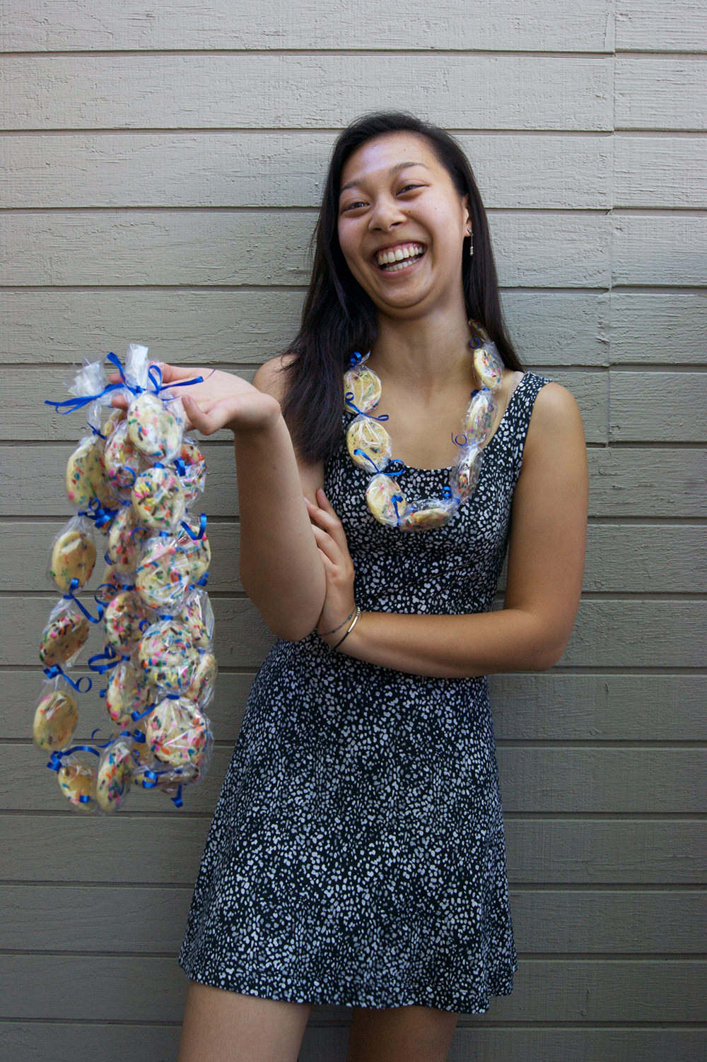 graduation cookie lei 1