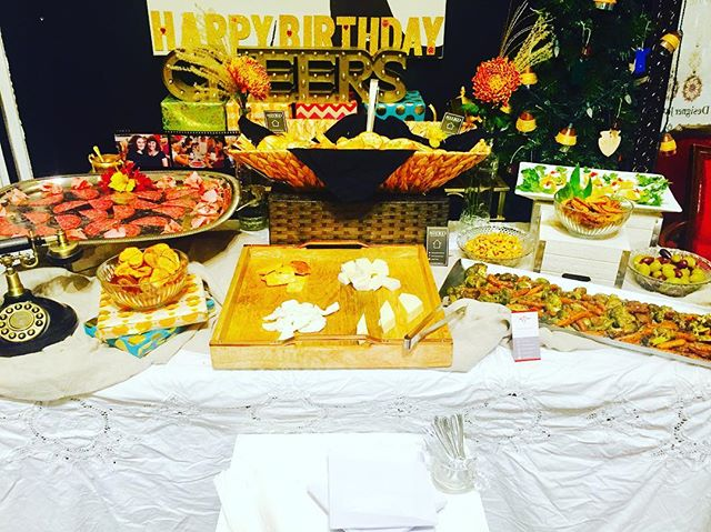 Great spread laid out to celebrate @see_jane_sparkle 's 4 year Bizversary!  We were so excited to be a part of it!  #clients #celebrate #gathering #privatechef #chefsofinstagram #chefsofinsta