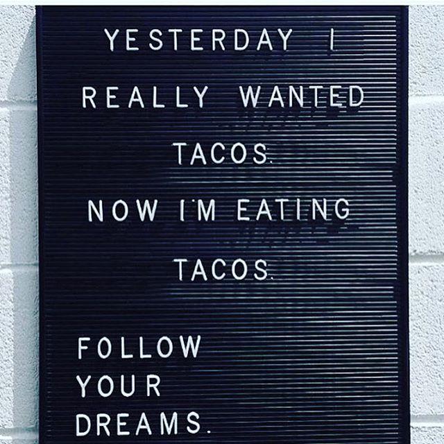 We LOVE tacos!