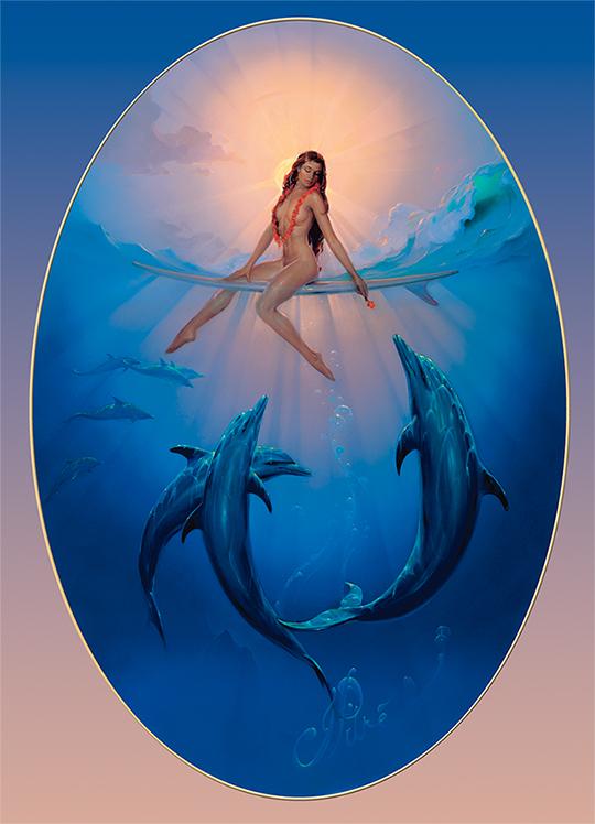 A Hawaiian Ocean Fantasy