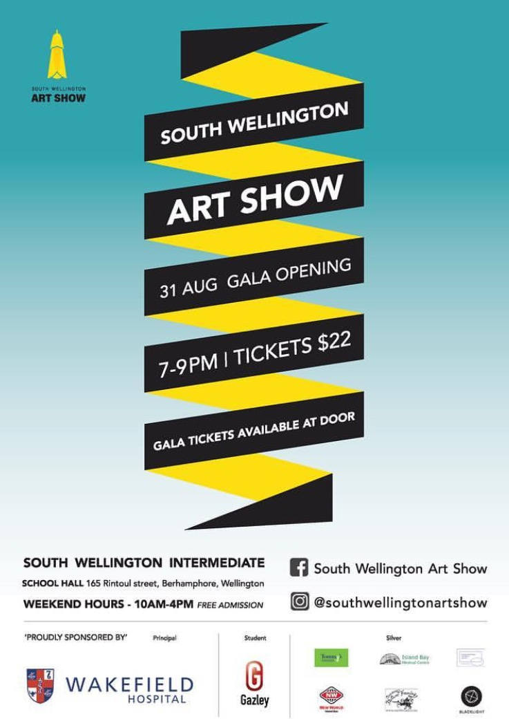 South Wellington Art Show - 165 Rintoul StreetWellington31 August 2018