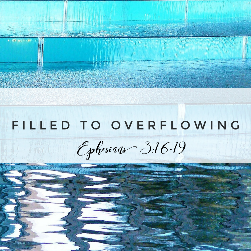 Filled to Overflowing Meditation