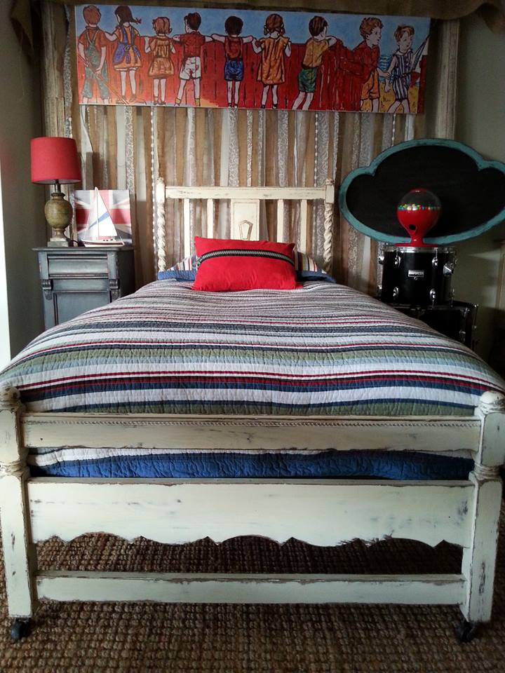 """Antique Single Ornate Bed..."""