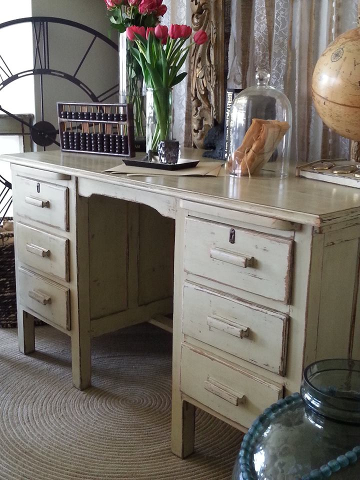 """""""Rustic French Desk..."""""""
