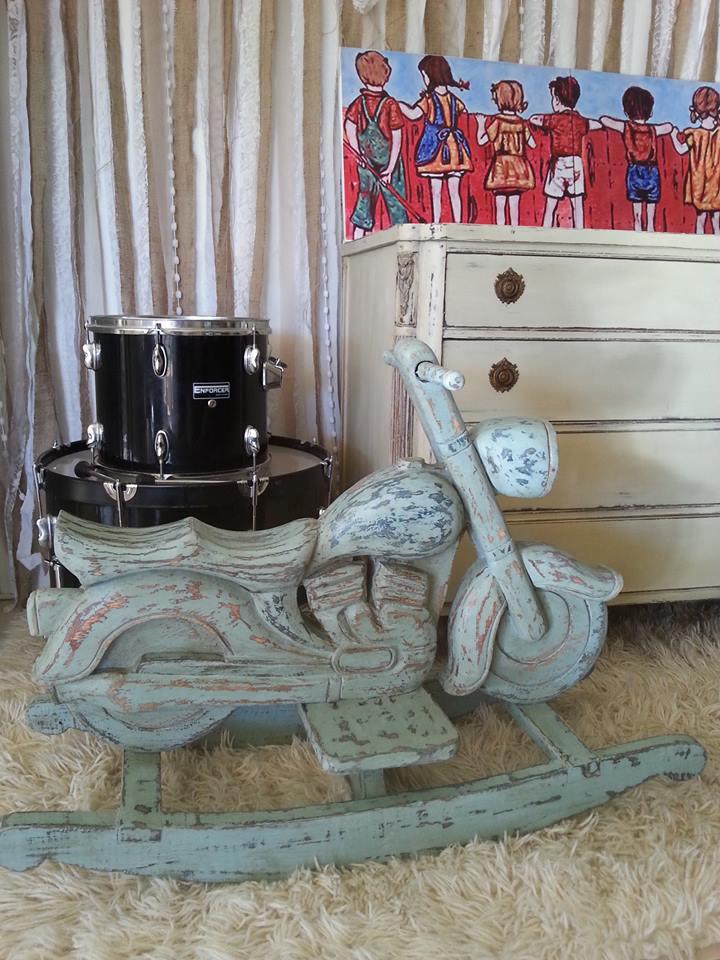 """Vintage Rocking Harley Bike..."""