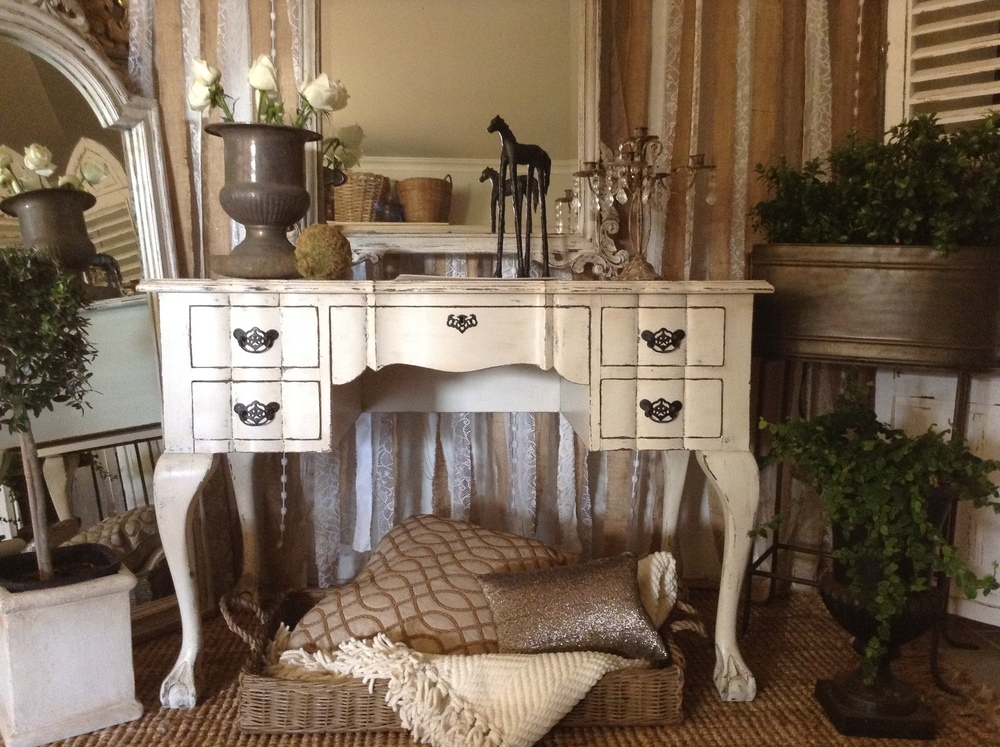 """""""An Affair To Remember!!""""   French Vintage Ornate Desk..."""
