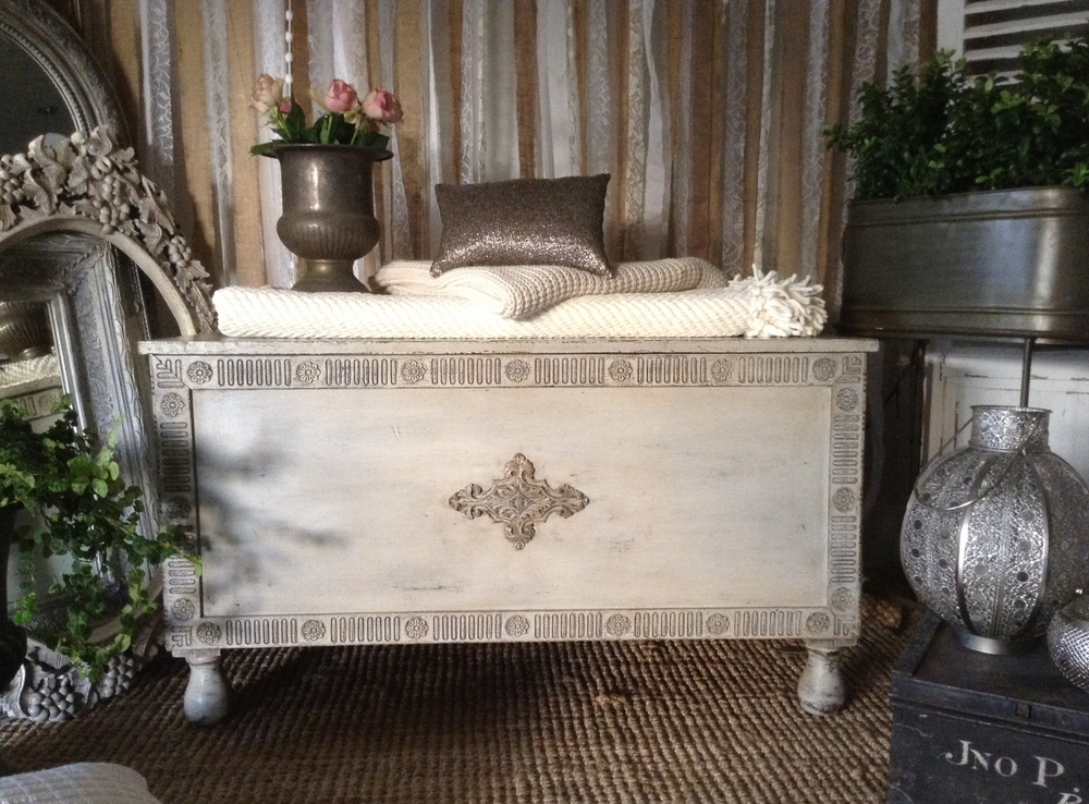 """A. Very. Special. Piece..."" Antique Blanket Box..."