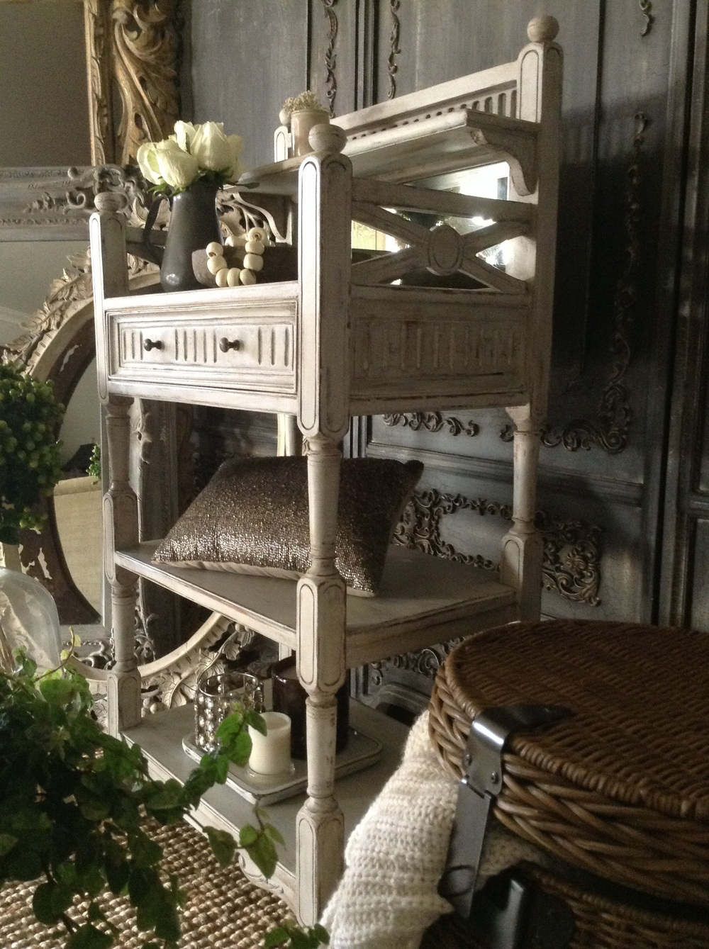 """Quaint French Country Shelf...""  X"