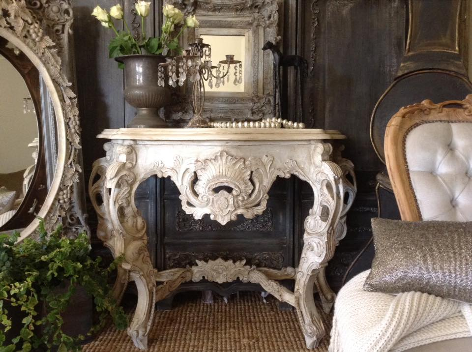 """Unleash Your Imagination!!"" Baroque Hall Table..."