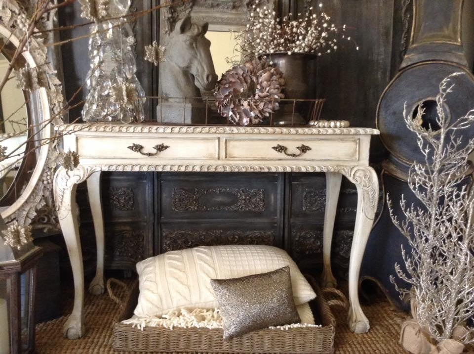 """""""St Germain Chic!!""""  French Antiquated Desk..."""