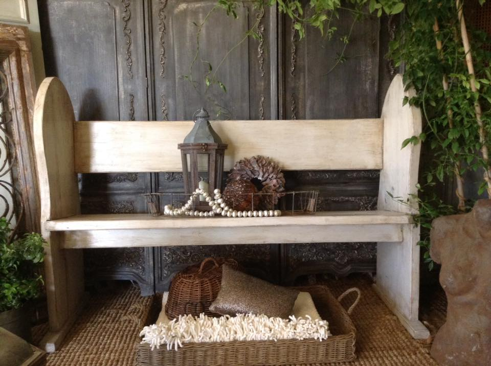 """Hallelujah!!"" Rustic Church Pew..."