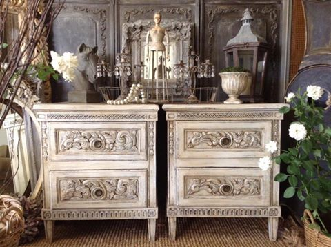 """""""Marie Antoinette"""" French Bedsides... x"""