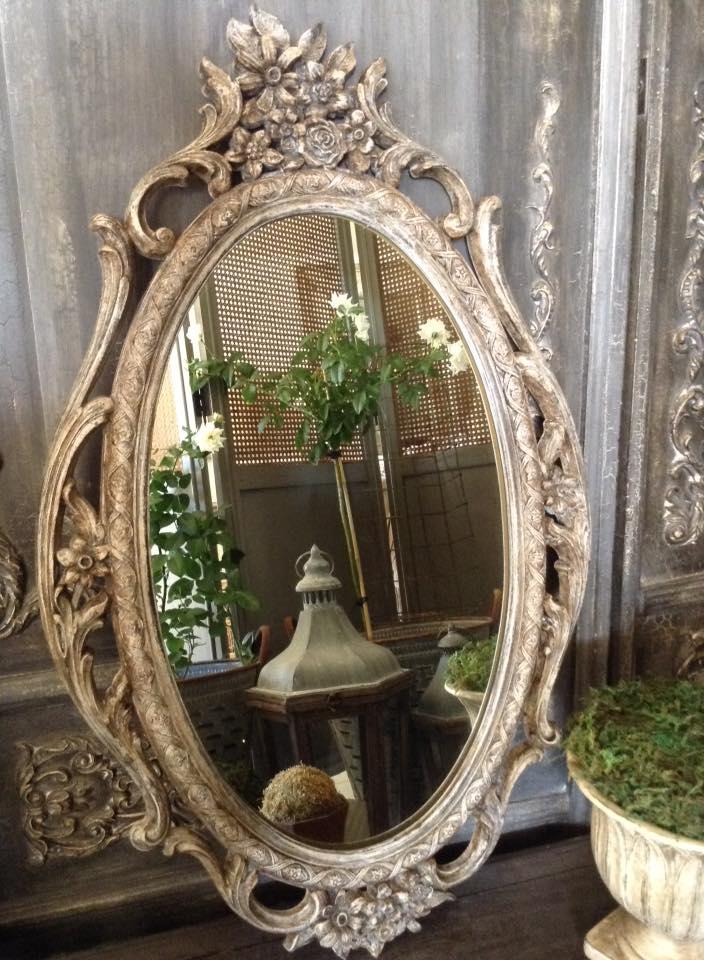 """Prêt-à-Porter!!"" Petite French Mirror..."