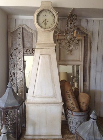 """Antique Swedish Mora Clock... x"