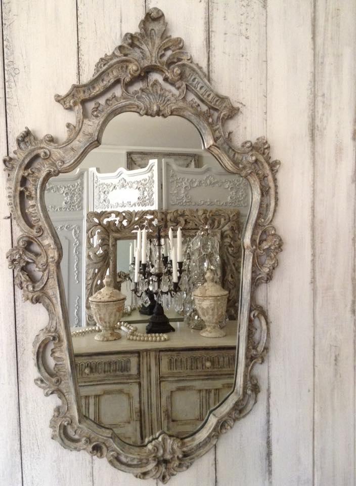 """""""Crème De La Crème!!"""" French Ornate Mirror..."""