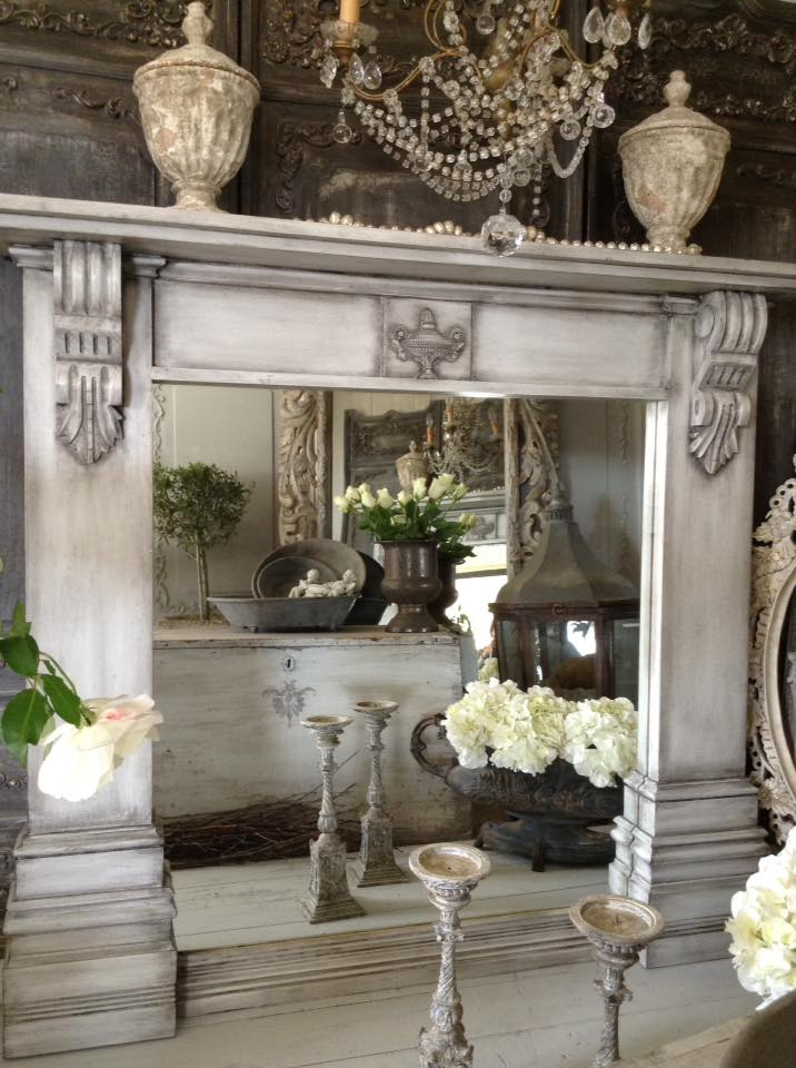 """The Black Tie Affair!!""   Neo-Classical Fireplace Mirror..."