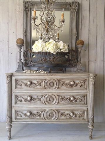 """Pop The Cork!!""  Baroque French Chest Of Drawers..."