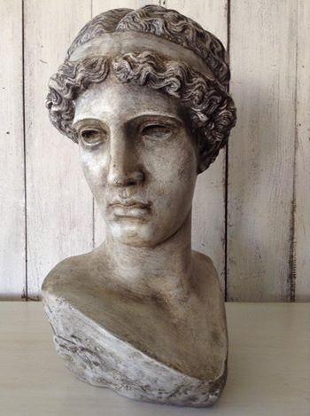 """Faded Grandeur!!"" Roman Bust... x"