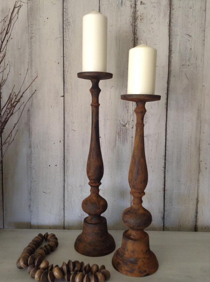 """Painting By Candlelight!!"" Duo French Byzantine Candles..."