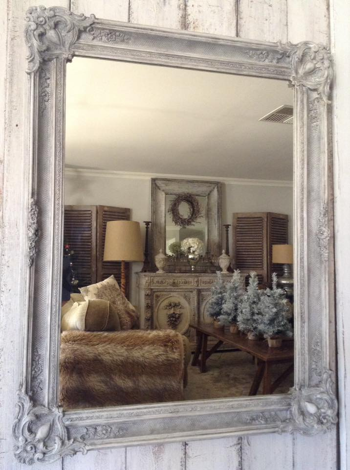 """French Antique Mirror LOVE!!"" x"