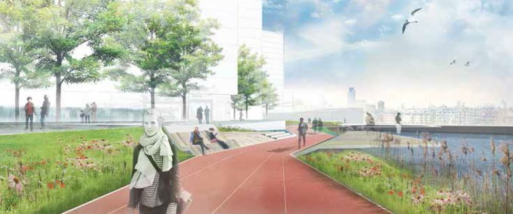 Greenwich Peninsula Masterplan 2015 proposals  (Knight Dragon)