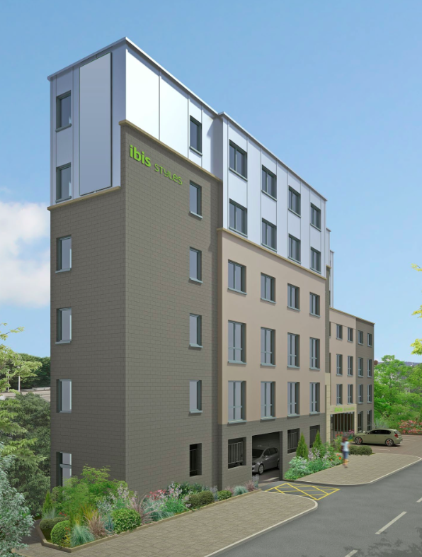 Ibis Styles Hotel Greenwich Peninsula - earlier design [One Investments]