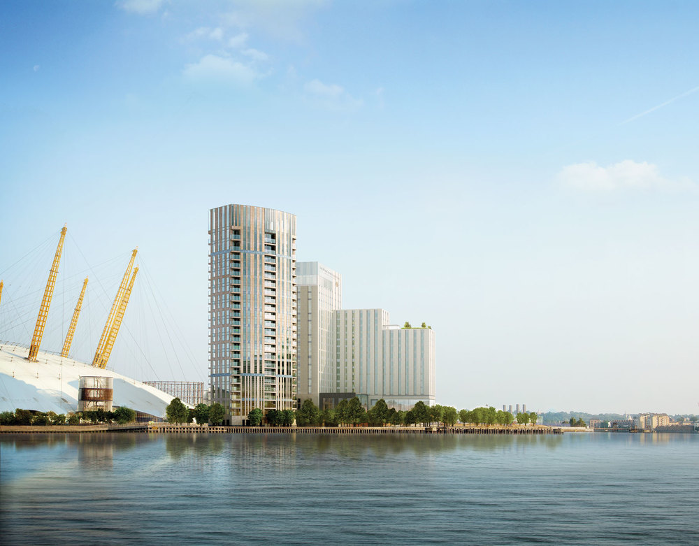Design proposals for  InterContinental Hotel - The O2  on the Greenwich Peninsula [IHG]